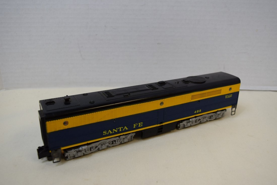 AMERICAN FLYER SANTS FE 485 DIESEL-B UNIT WITH ROA