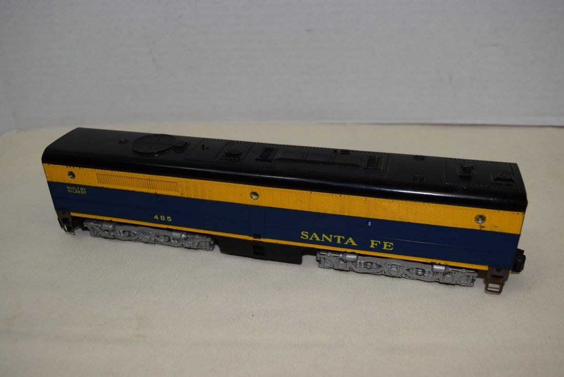 AMERICAN FLYER SANTS FE 485 DIESEL-B UNIT WITH ROA - 3