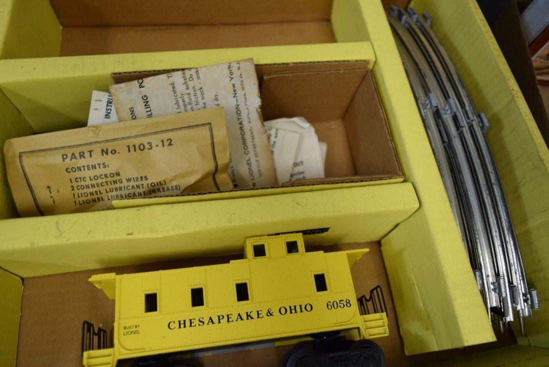 LIONEL ELECTRIC TRAIN SET 1629 IN BOX - 4