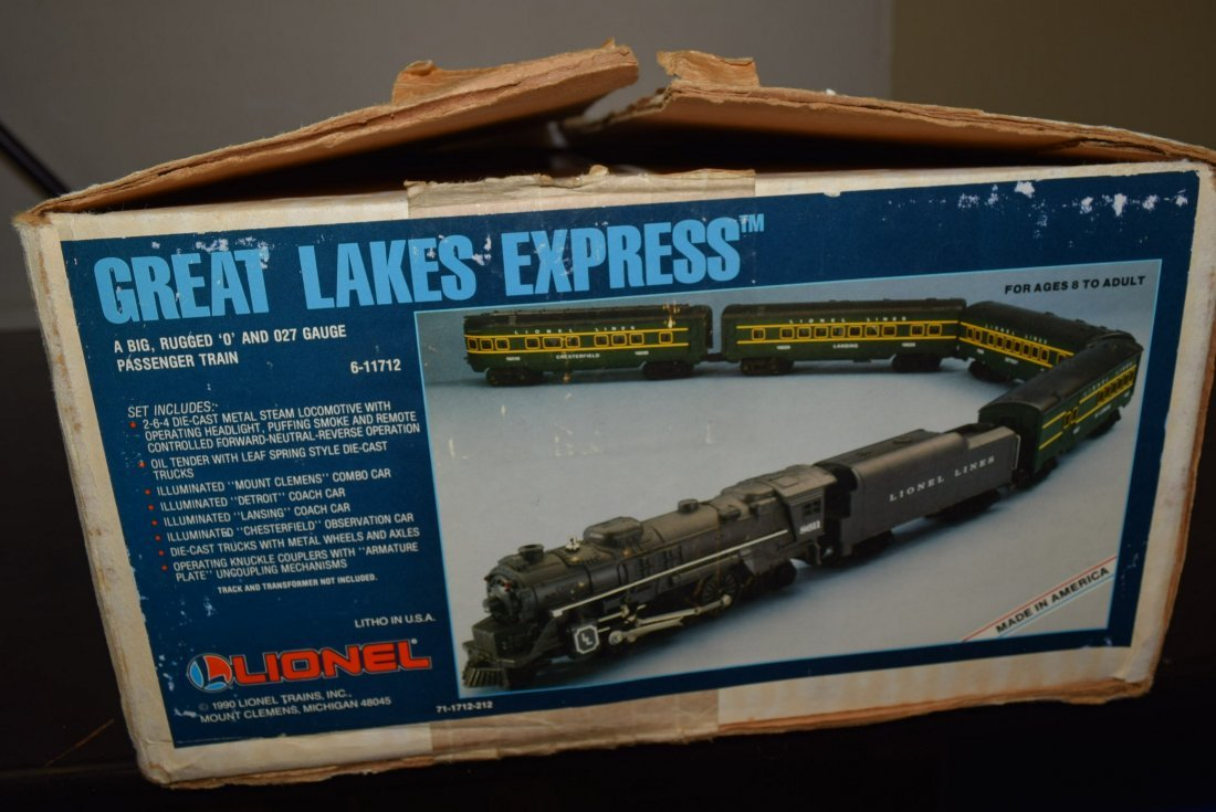 LIONEL GREAT LAKES EXPRESS TRAIN SET 6-11712 -NIB - 2