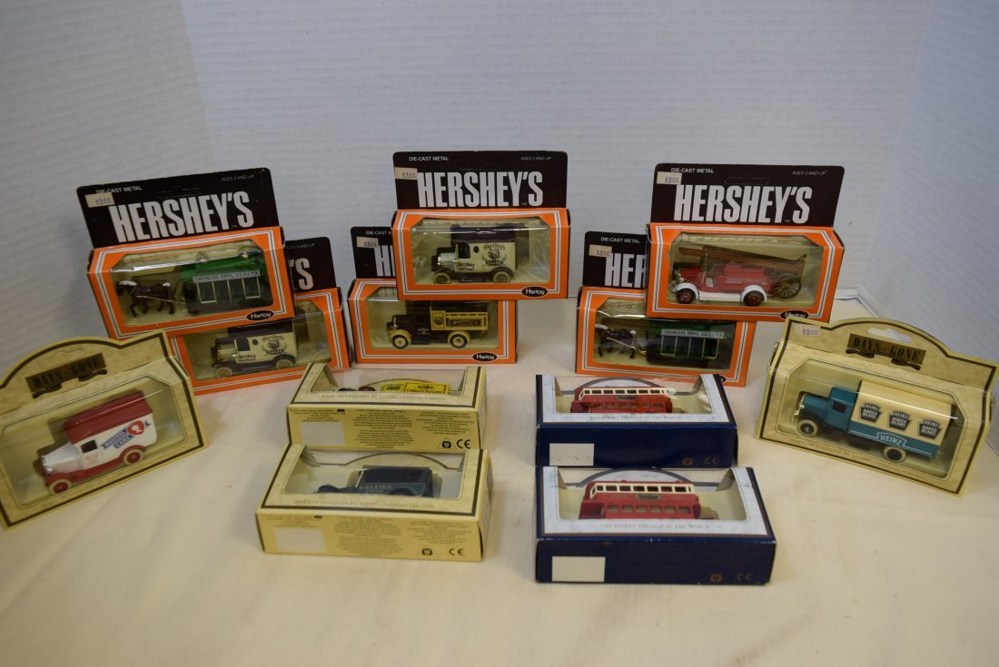 HARTOY-DAYS GONE-HAMLEYS DIECAST CARS AND MORE