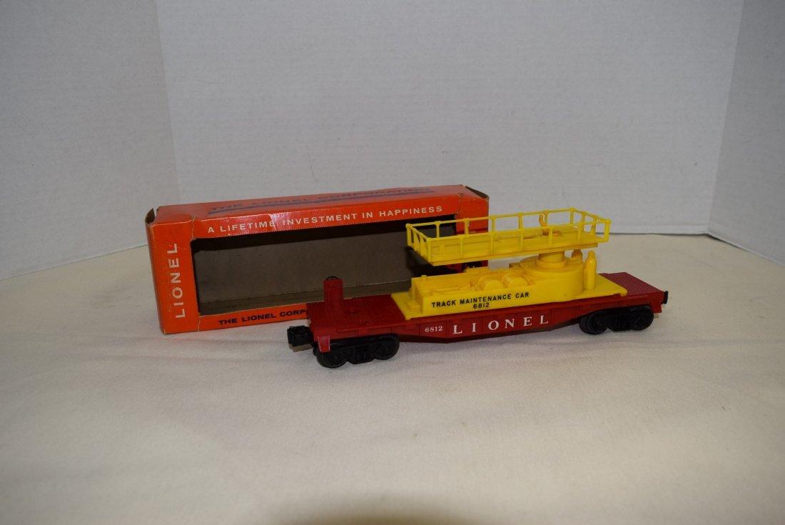 LIONEL 6812 TRACK MAINTENANCE CAR