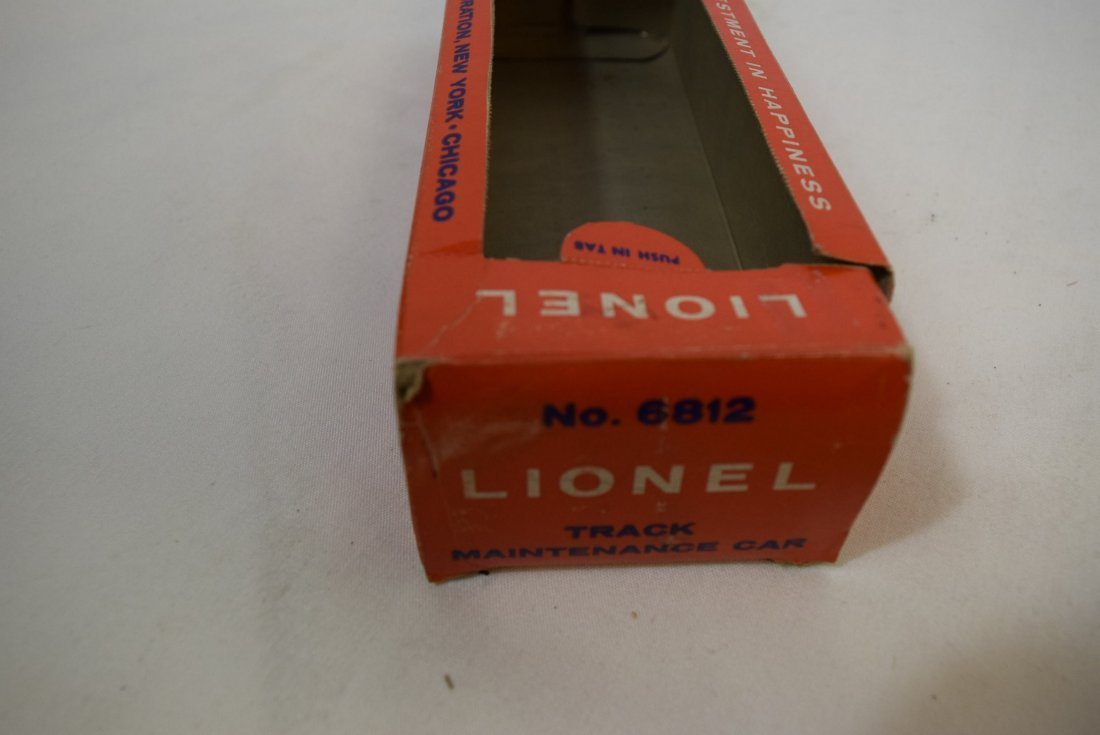 LIONEL 6812 TRACK MAINTENANCE CAR - 5