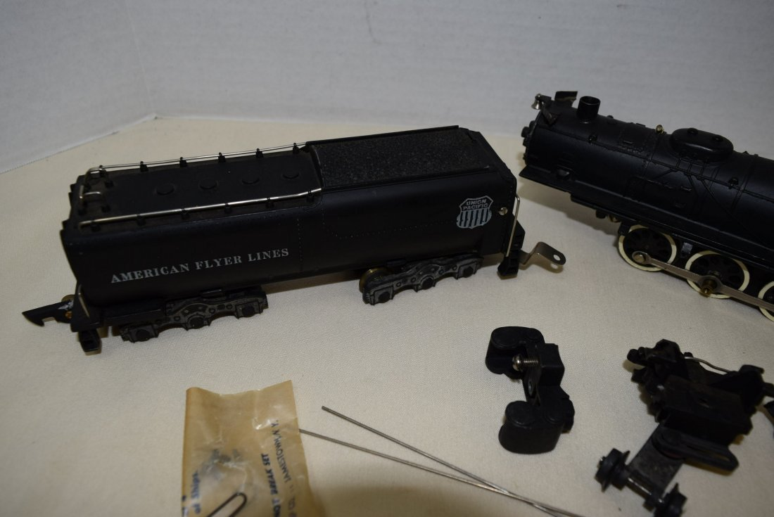 1949 AMERICAN FLYER LOCOMOTIVE 332 & TENDER - 4