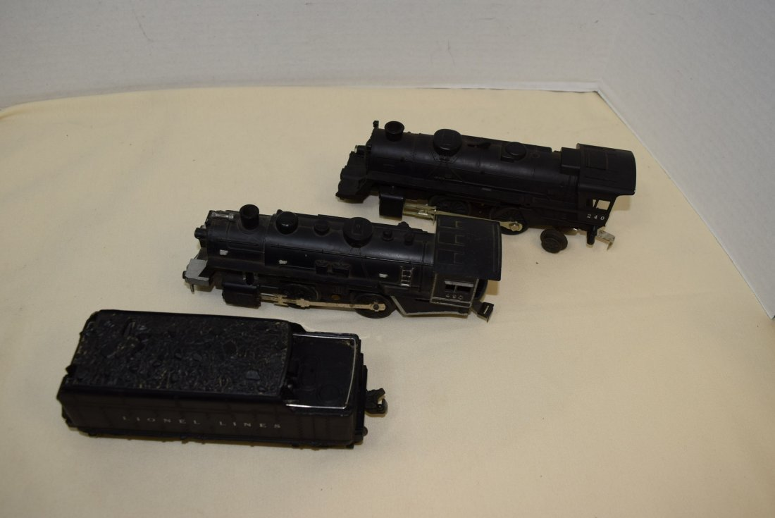 LIONEL 2466WX TENDER-LIONEL 240 LOCOMOTIVE & MORE - 3