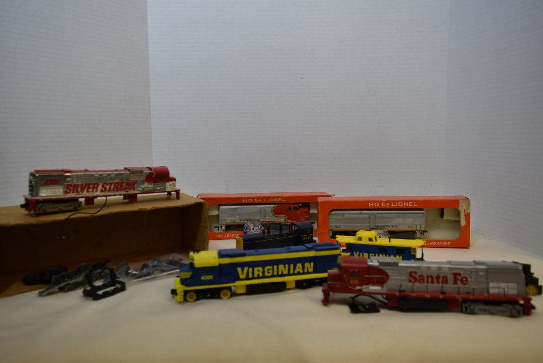 HO LOCOMOTIVES-4301-2408-0565-1 AND MORE