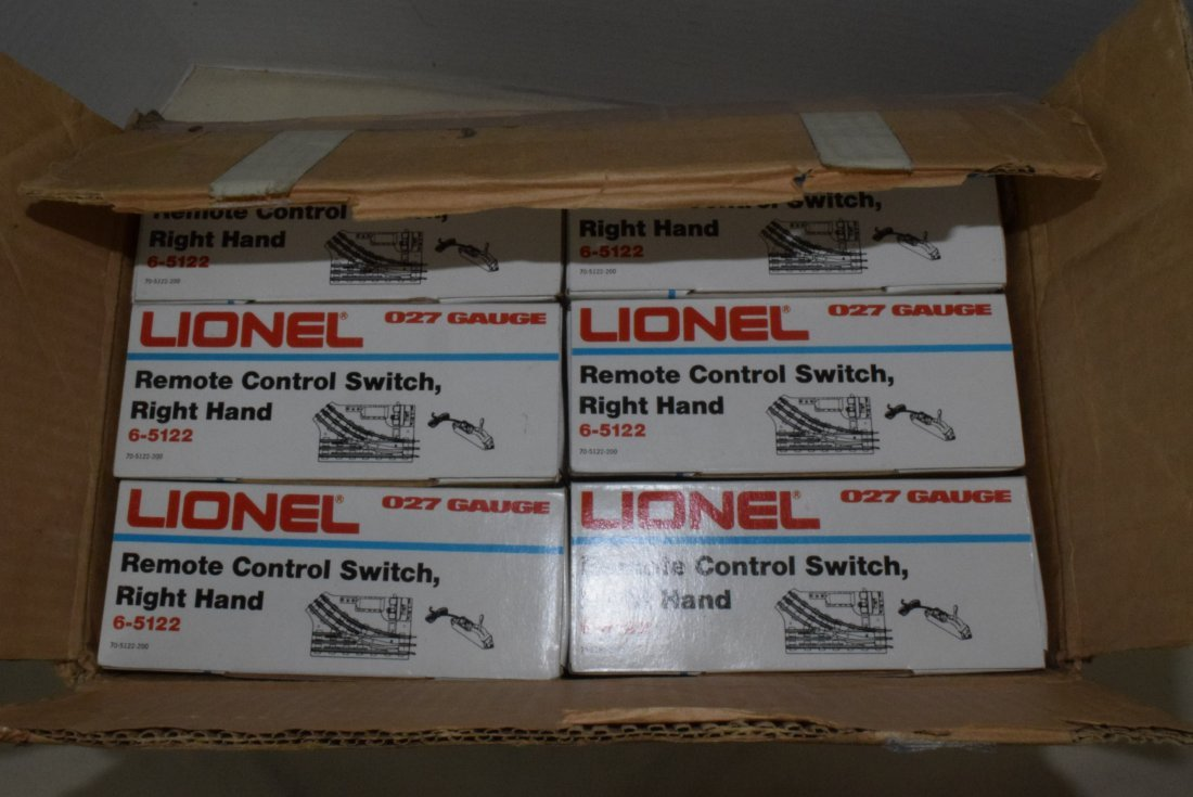 6 LIONEL O27-GAUGE REMOTE CONTROL SWITCHES RIGHT H - 2