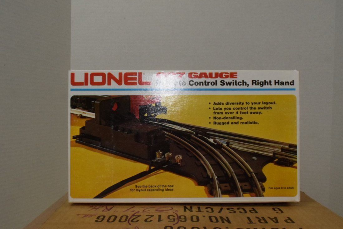 6 LIONEL O27-GAUGE REMOTE CONTROL SWITCHES RIGHT H - 3