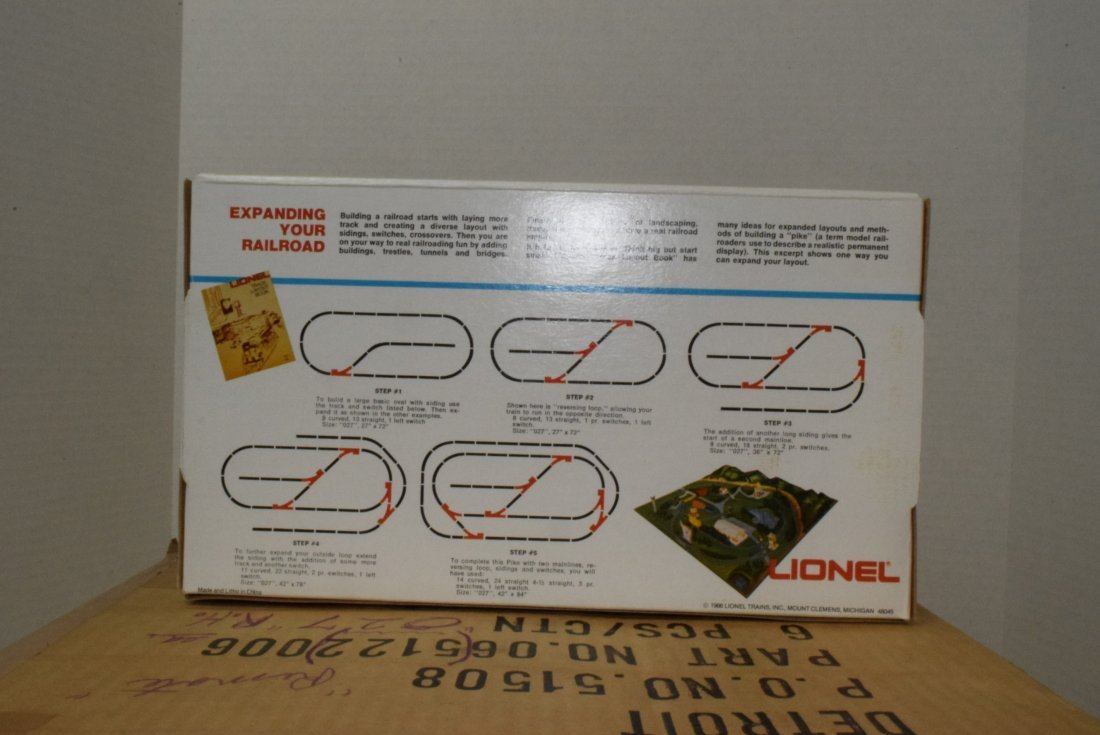 6 LIONEL O27-GAUGE REMOTE CONTROL SWITCHES RIGHT H - 4