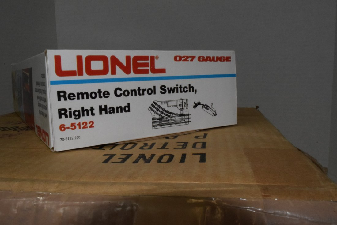 6 LIONEL O27-GAUGE REMOTE CONTROL SWITCHES RIGHT H - 5