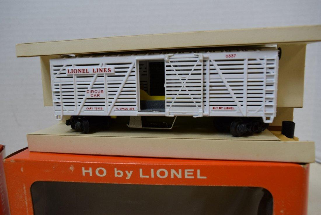 2 LIONEL H0 SCALE TRAIN CARS- GIRAFFE CAR 0337-MIL - 3