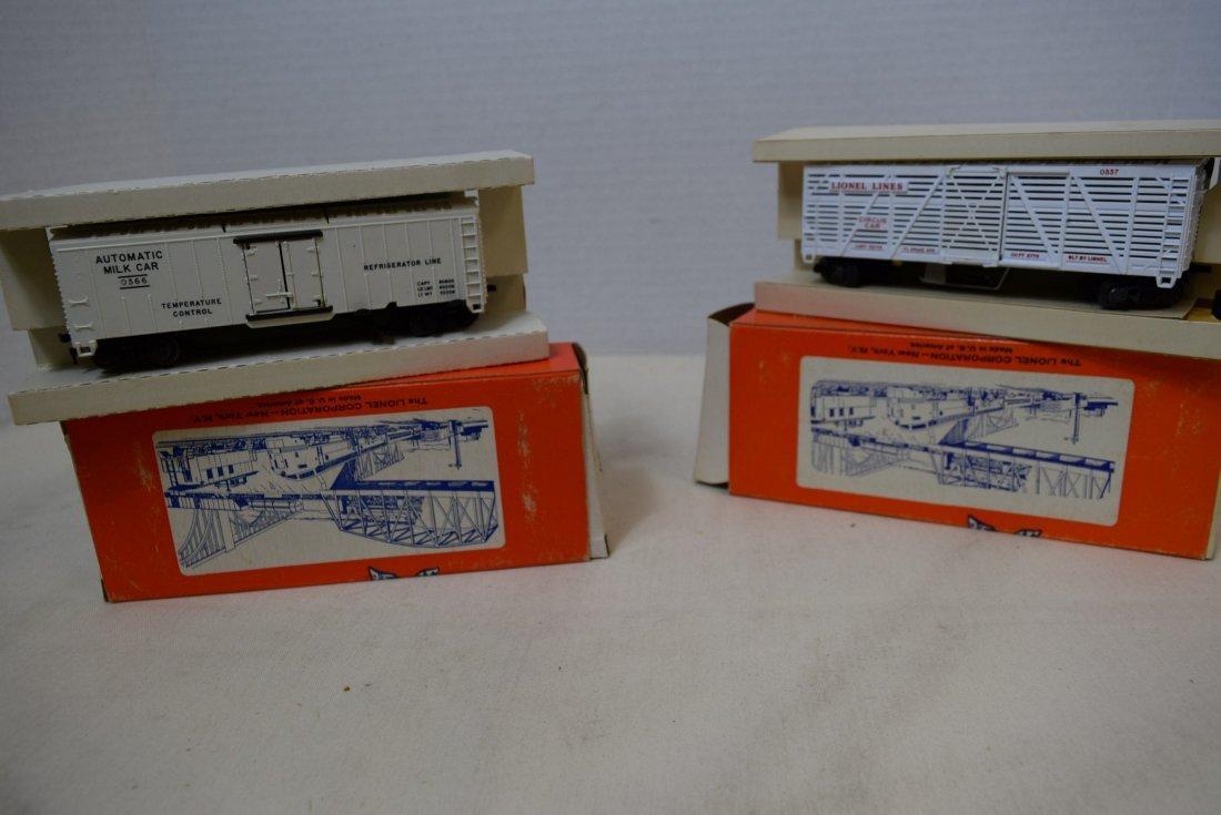 2 LIONEL H0 SCALE TRAIN CARS- GIRAFFE CAR 0337-MIL - 9