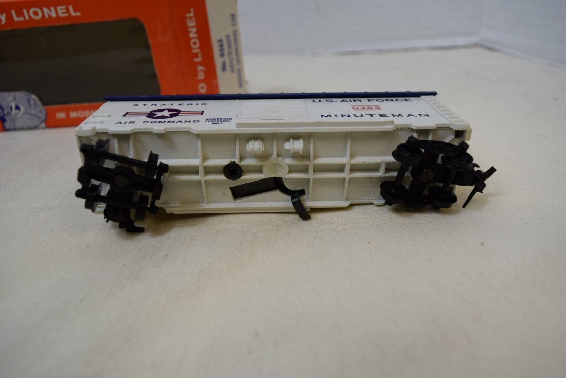 LIONEL HO SCALE TRAIN CAR- USAF MINUTEMAN MISSILE - 3