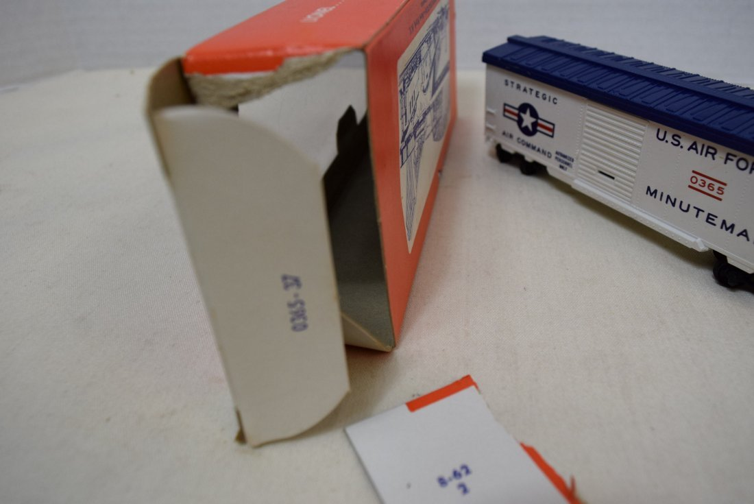 LIONEL HO SCALE TRAIN CAR- USAF MINUTEMAN MISSILE - 4