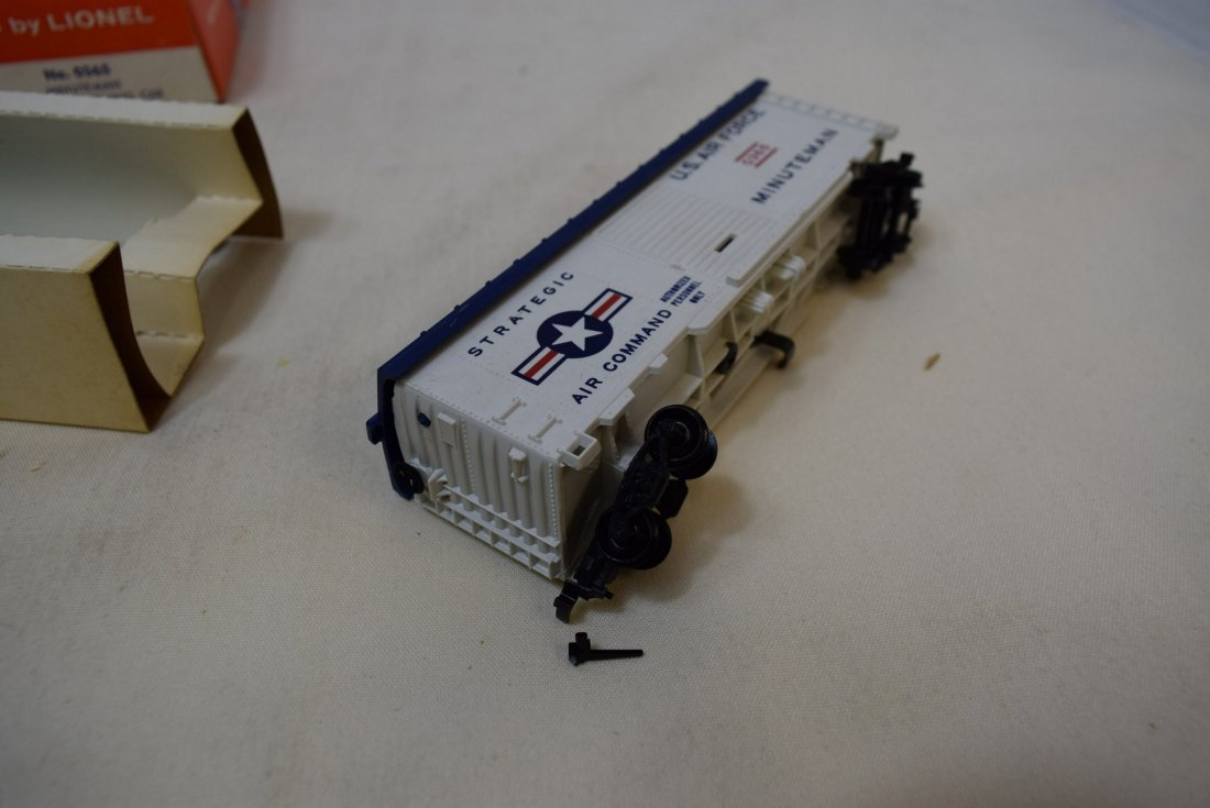 LIONEL HO SCALE TRAIN CAR- USAF MINUTEMAN MISSILE - 6