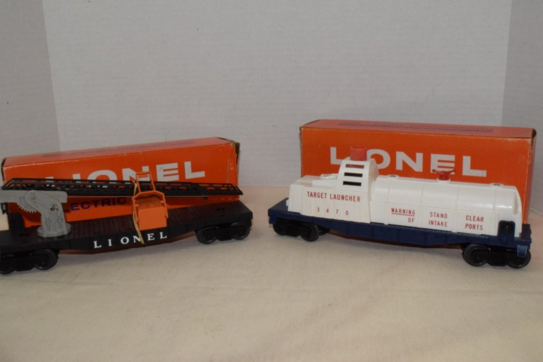 LIONEL TRAINS-AERIAL TARGET LAUNCHING CAR & CHERRY - 2