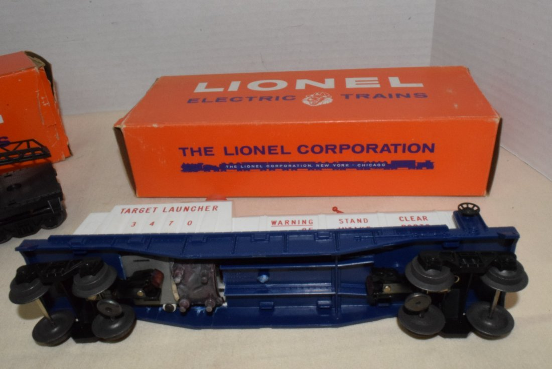 LIONEL TRAINS-AERIAL TARGET LAUNCHING CAR & CHERRY - 3