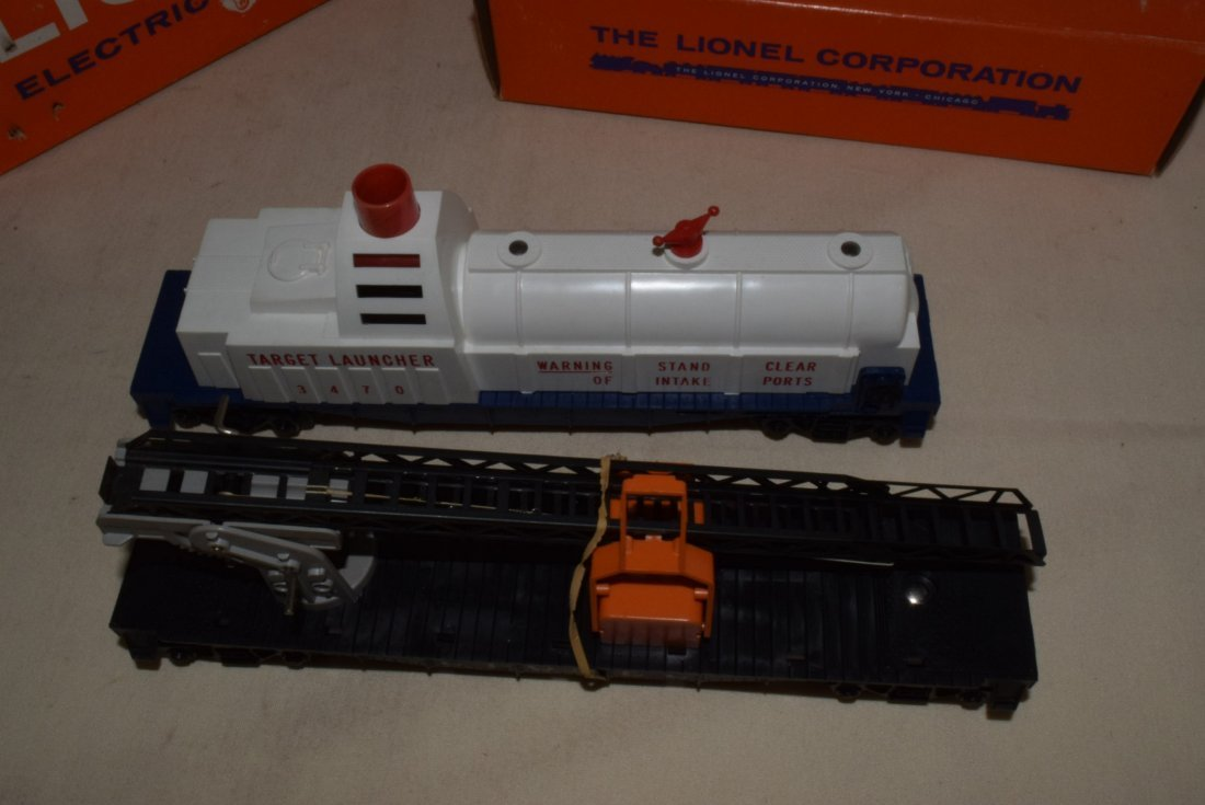 LIONEL TRAINS-AERIAL TARGET LAUNCHING CAR & CHERRY - 4