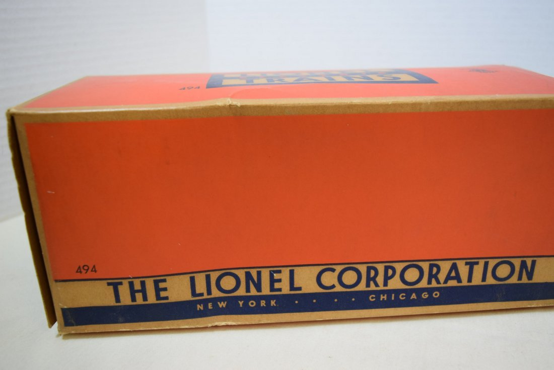 LIONEL TRAINS-ROTATING BEACON 494 IN ORIGINAL BOX - 3