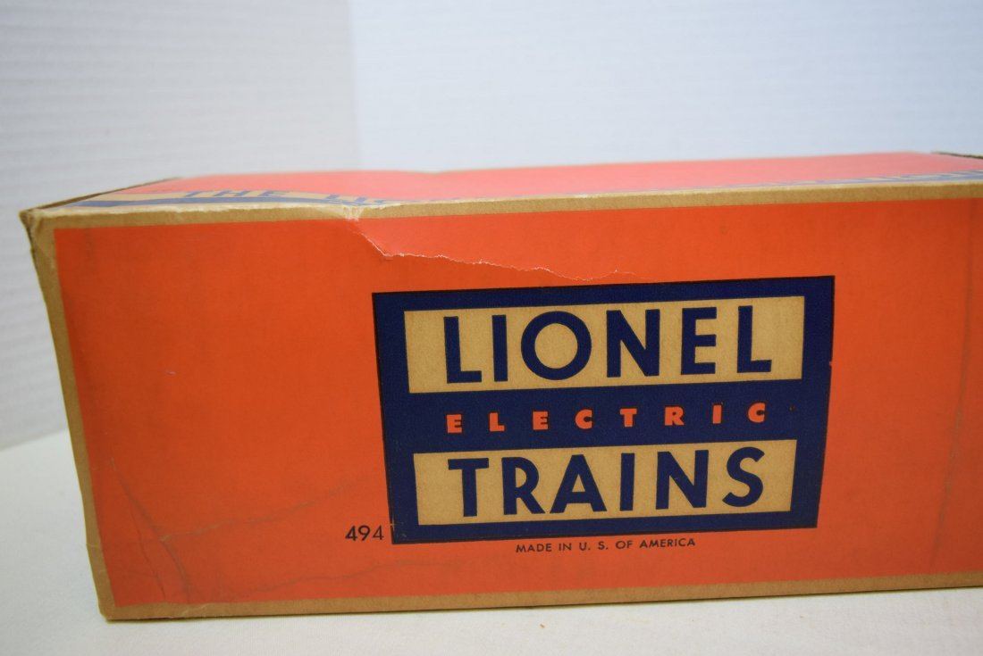 LIONEL TRAINS-ROTATING BEACON 494 IN ORIGINAL BOX - 4
