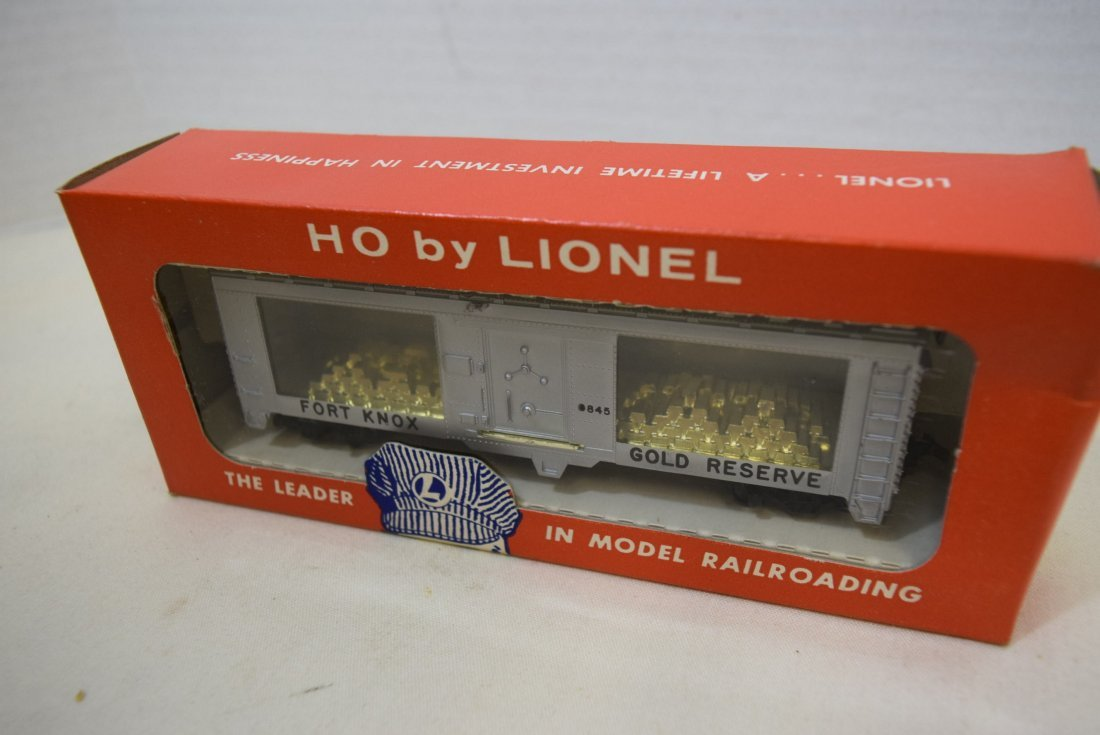 LIONEL TRAIN HO SCALE GOLD BULLION TRANSPORT CAR 0