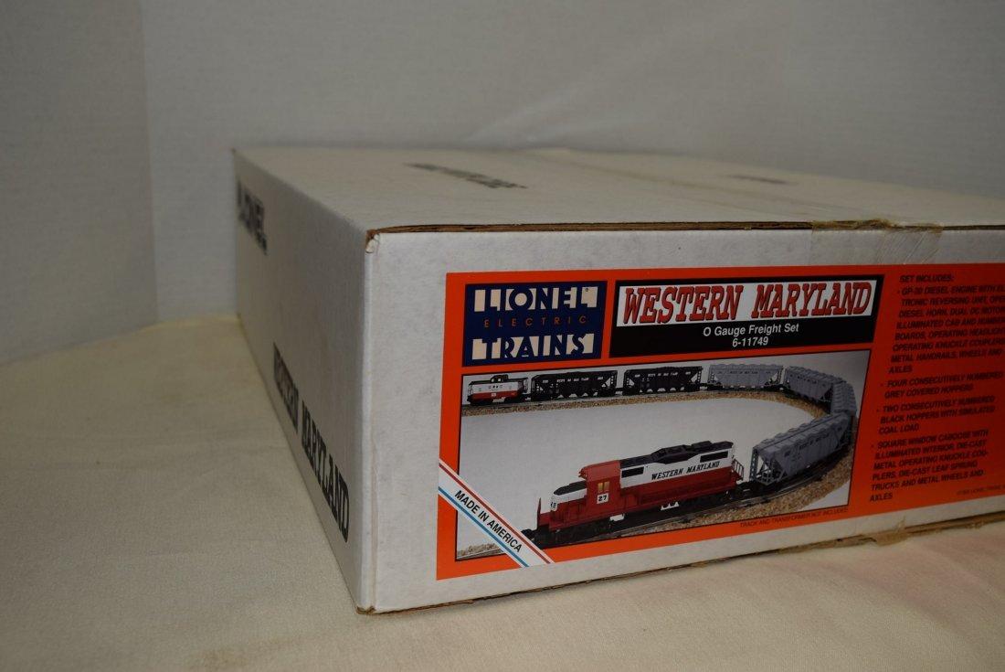 LIONEL ELECTRIC TRAIN WESTERN MARYLAND O GAUGE FRE - 4