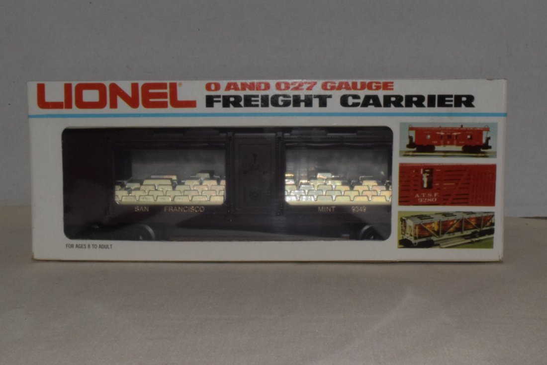 LIONEL TRAIN SAN FRANCISCO GOLD BULLION CAR 6-9349