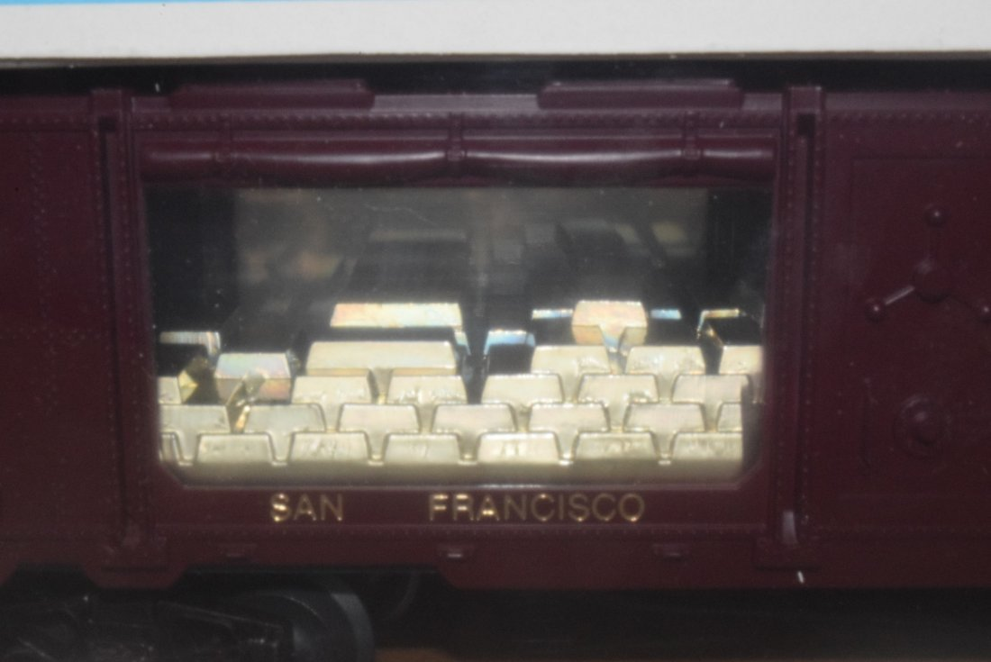 LIONEL TRAIN SAN FRANCISCO GOLD BULLION CAR 6-9349 - 2