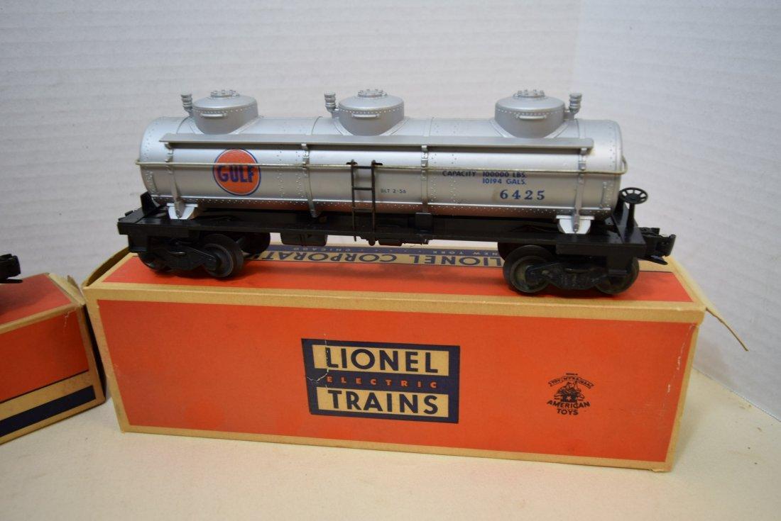 LIONEL GONDOLA CAR & TANK CAR IN ORIGINAL BOXES - 2