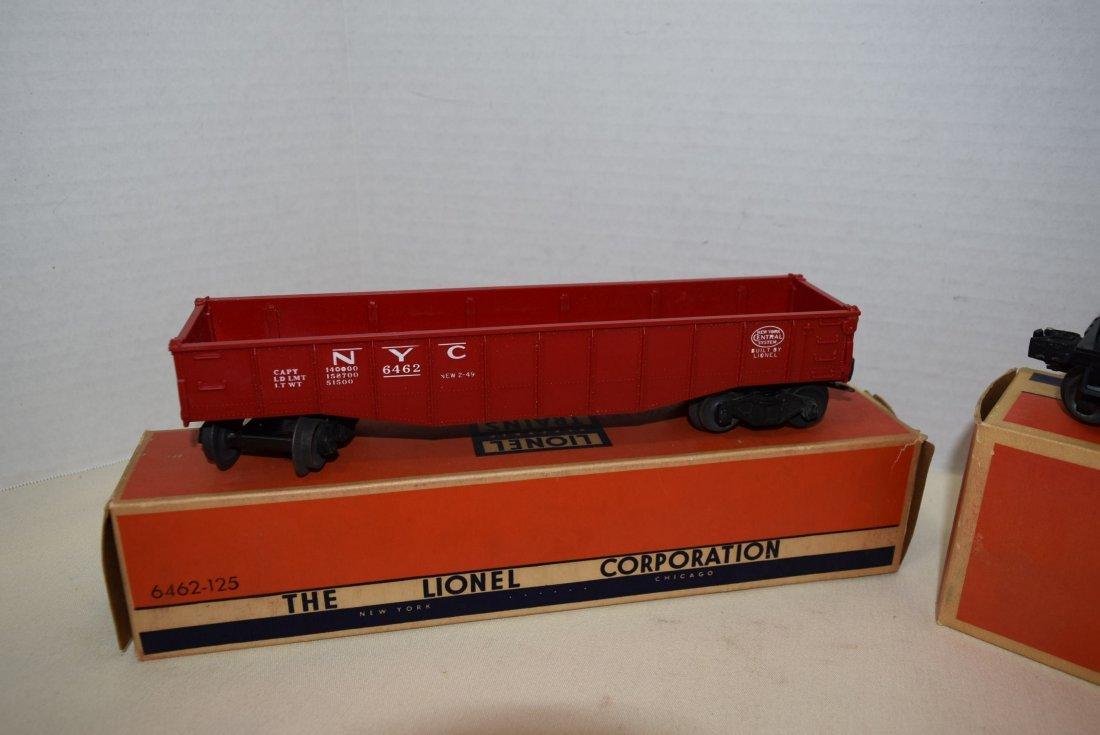 LIONEL GONDOLA CAR & TANK CAR IN ORIGINAL BOXES - 3