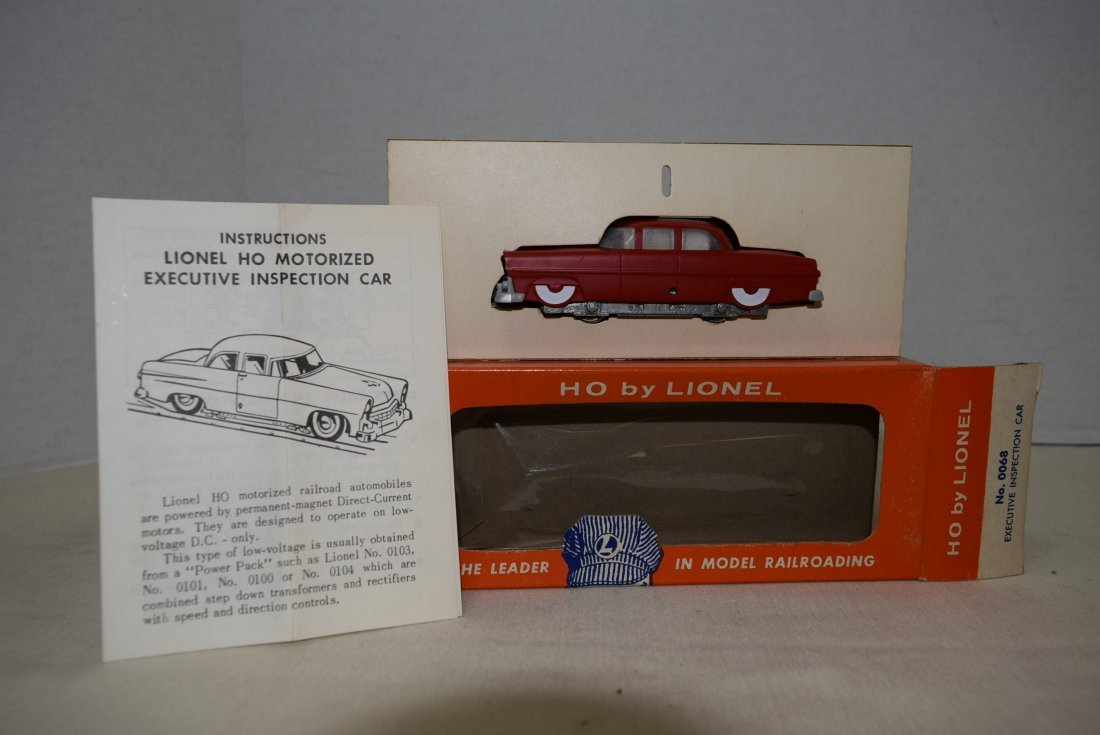 LIONEL HO SCALE TRAIN EXECUTIVE INSPECTI0N CAR 006