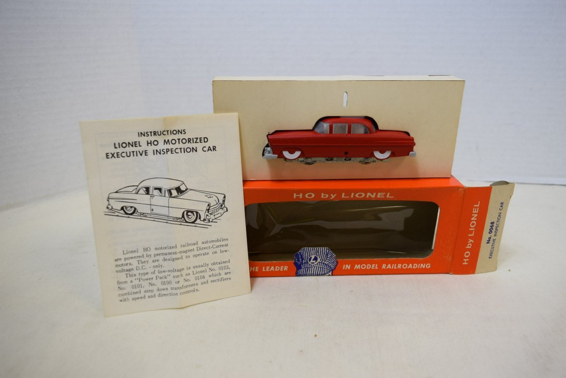 LIONEL HO SCALE TRAIN EXECUTIVE INSPECTI0N CAR 006 - 2