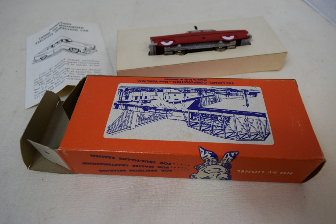 LIONEL HO SCALE TRAIN EXECUTIVE INSPECTI0N CAR 006 - 5