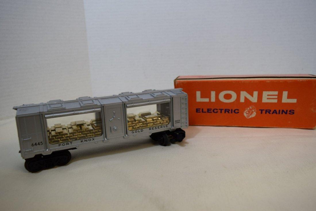 LIONEL FORT KNOX GOLD BULLION TRANSPORT CAR 6445 N - 3
