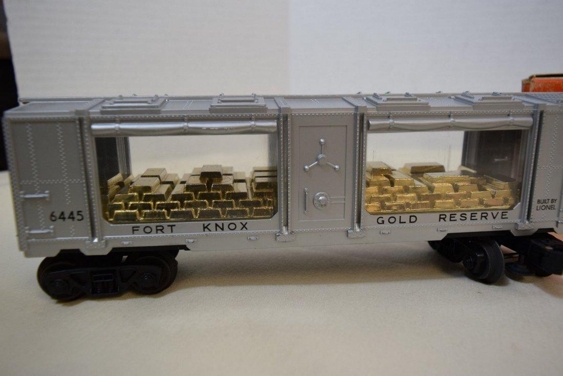 LIONEL FORT KNOX GOLD BULLION TRANSPORT CAR 6445 N - 4