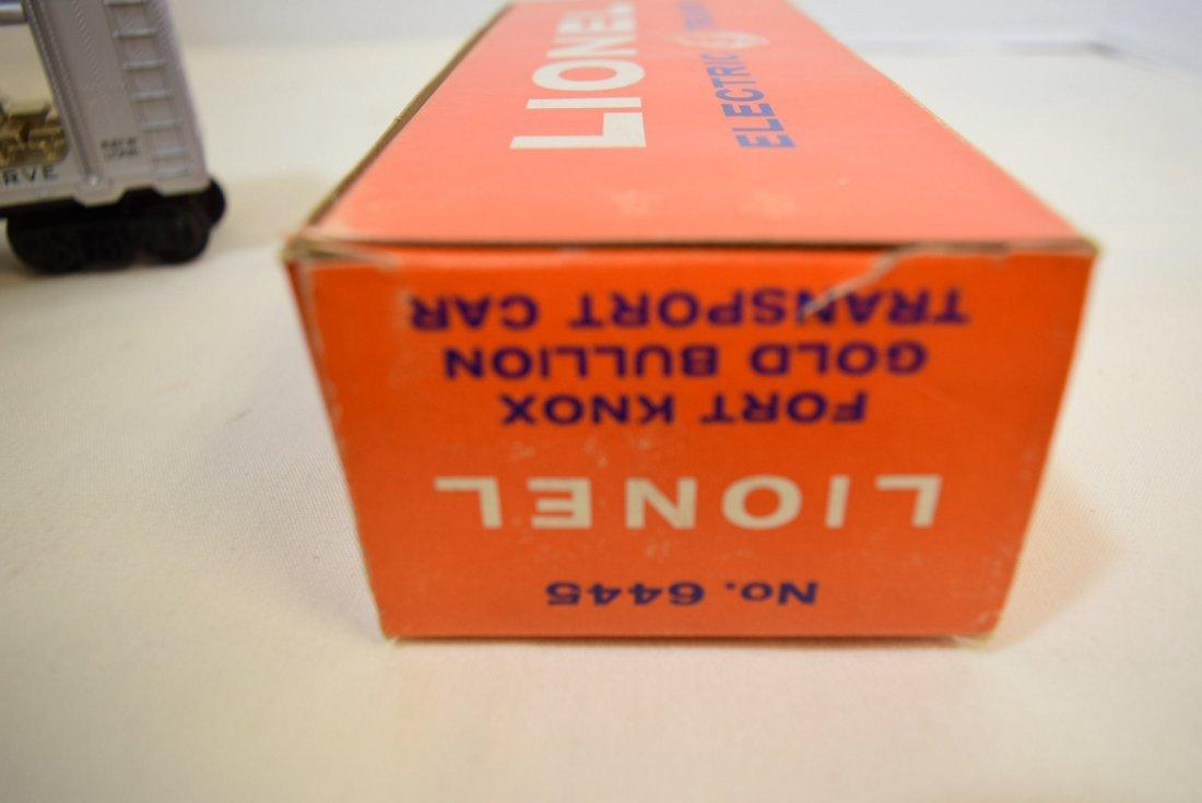 LIONEL FORT KNOX GOLD BULLION TRANSPORT CAR 6445 N - 7