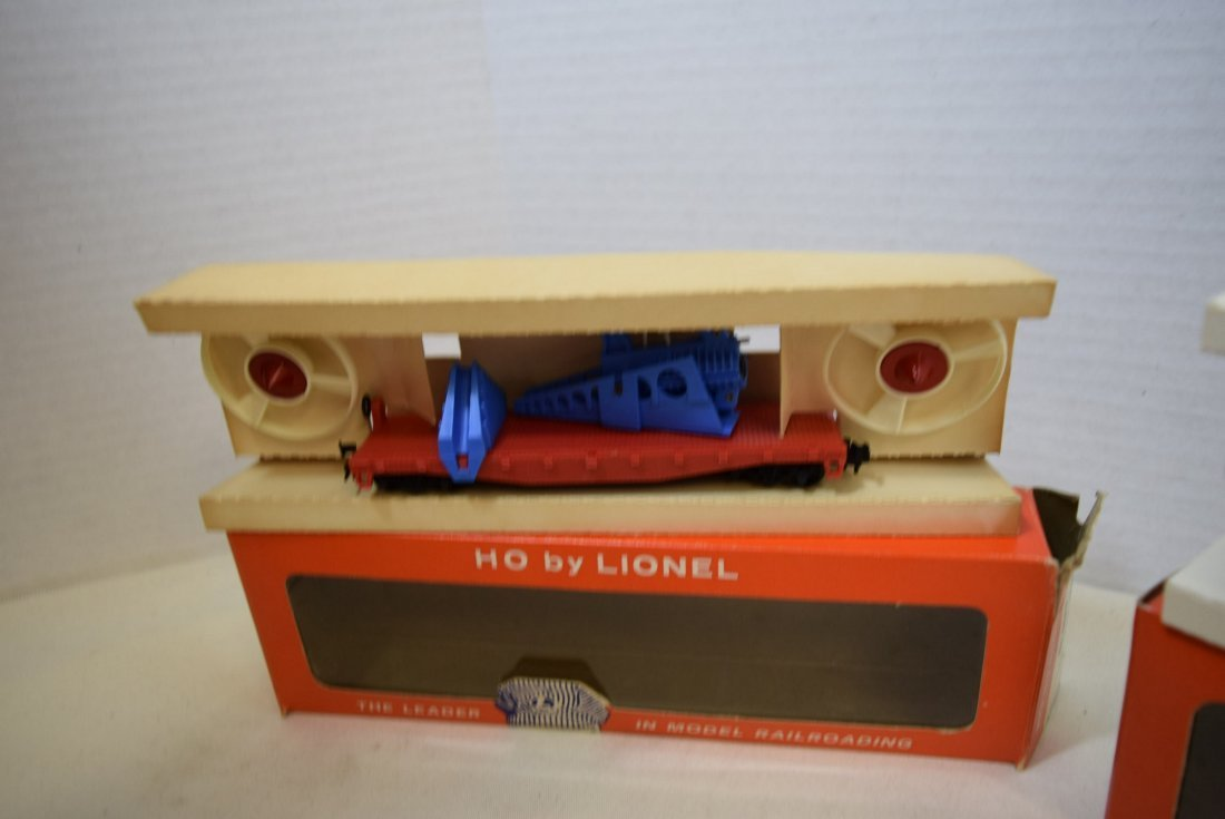 2 LIONEL HO SCALE TRAIN CARS- TURBO MISSILE FIRING - 3