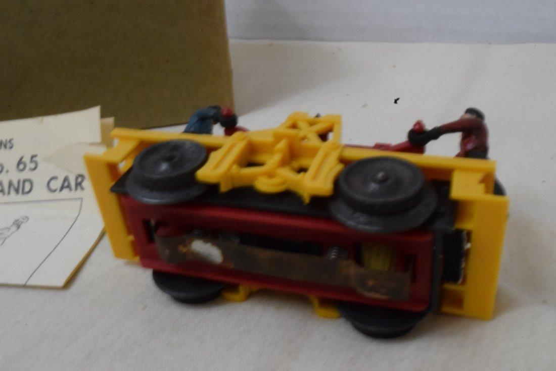LIONEL MOTORIZED HAND CAR 65 - 5