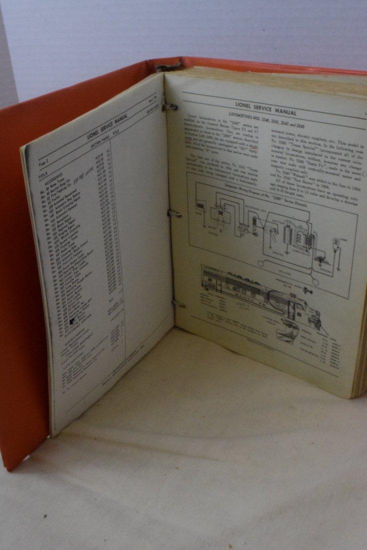 RARE 1948-1960 LIONEL SERVICE ORIGINAL MANUALS