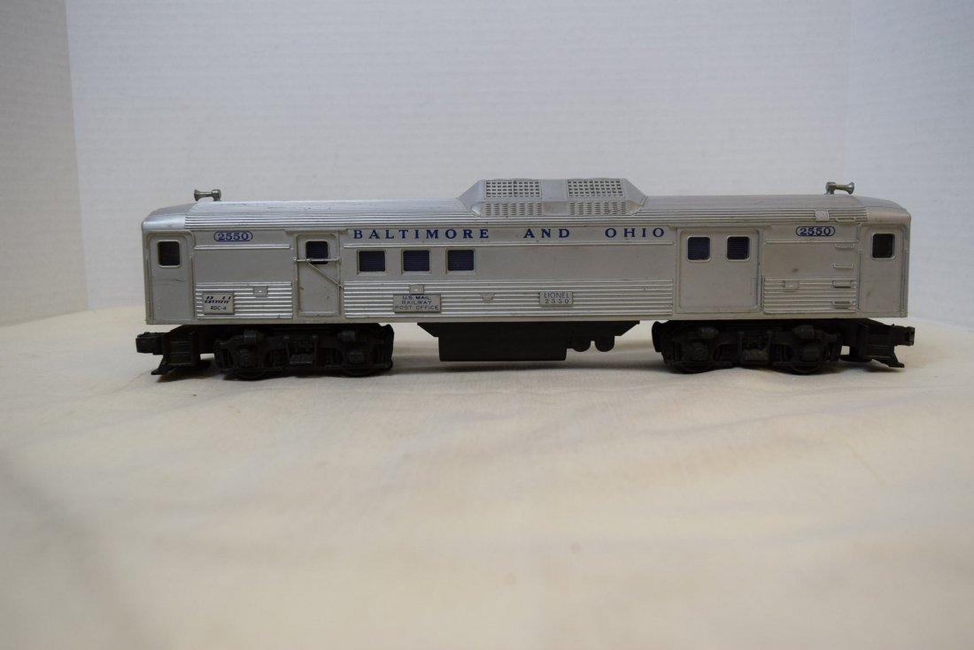 LIONEL TRAIN CAR-BALTIMORE AND OHIO 2550
