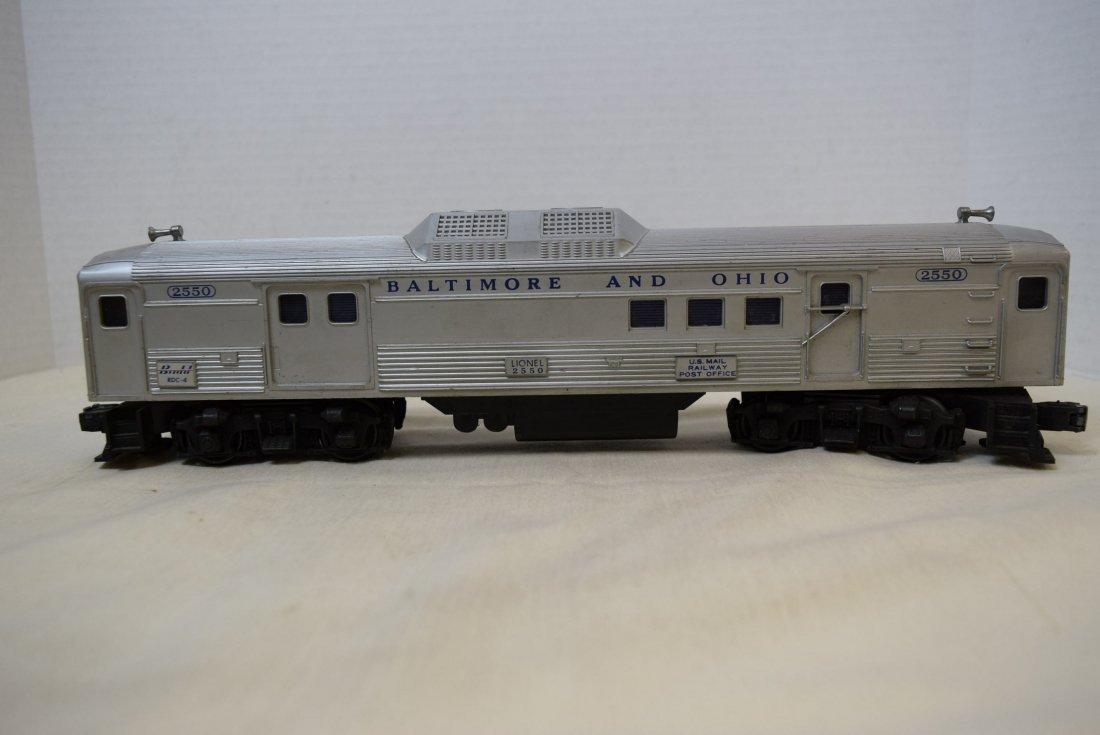 LIONEL TRAIN CAR-BALTIMORE AND OHIO 2550 - 2