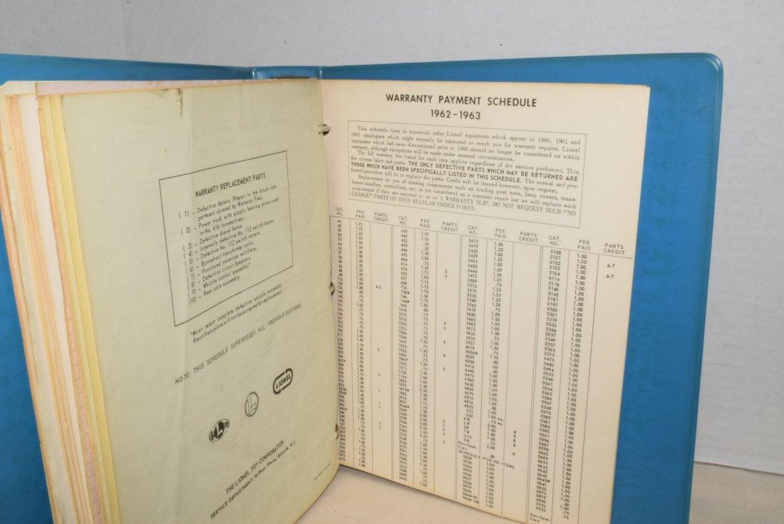 ORIGINAL 1959-1963 LIONEL TRAIN SERVICE BULLETINS - 5