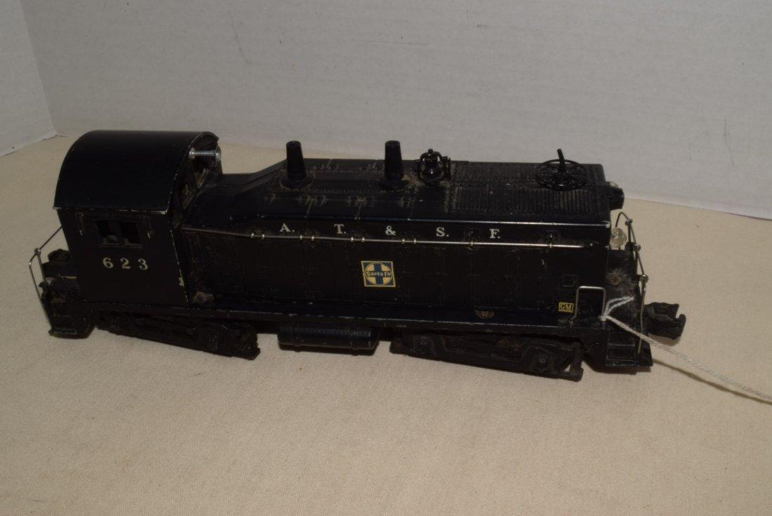 1950'S LIONEL TRAIN LOCOMOTIVE 623 SANTA FE DIESEL - 2