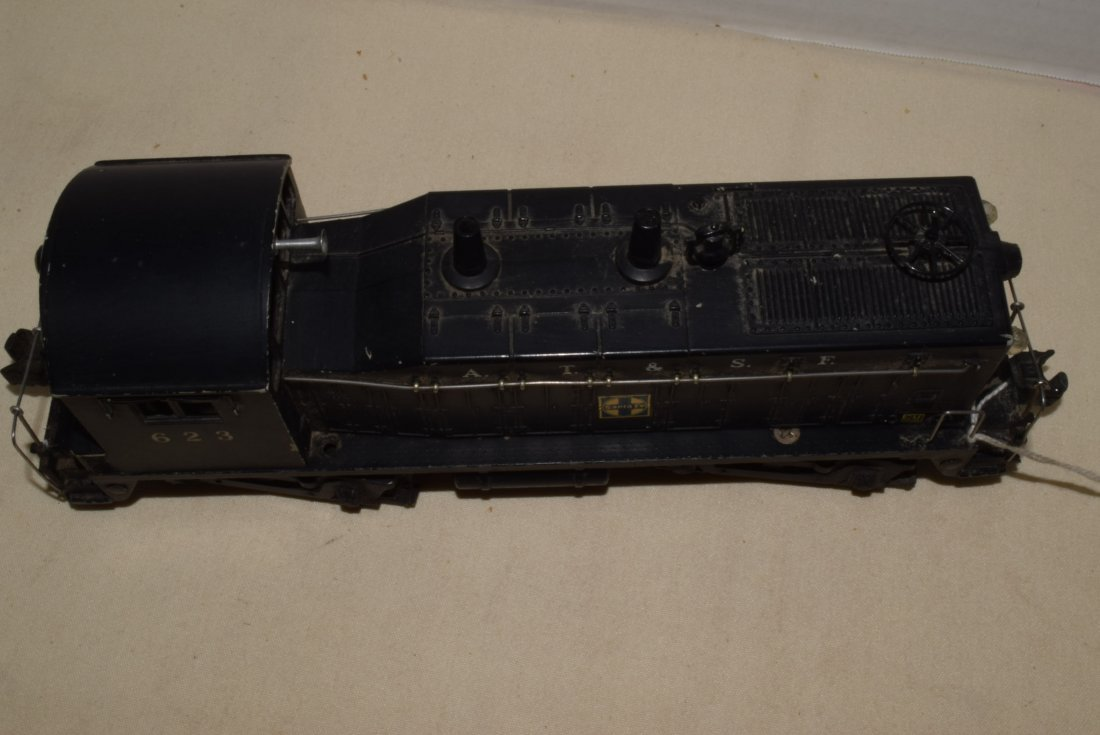 1950'S LIONEL TRAIN LOCOMOTIVE 623 SANTA FE DIESEL - 3