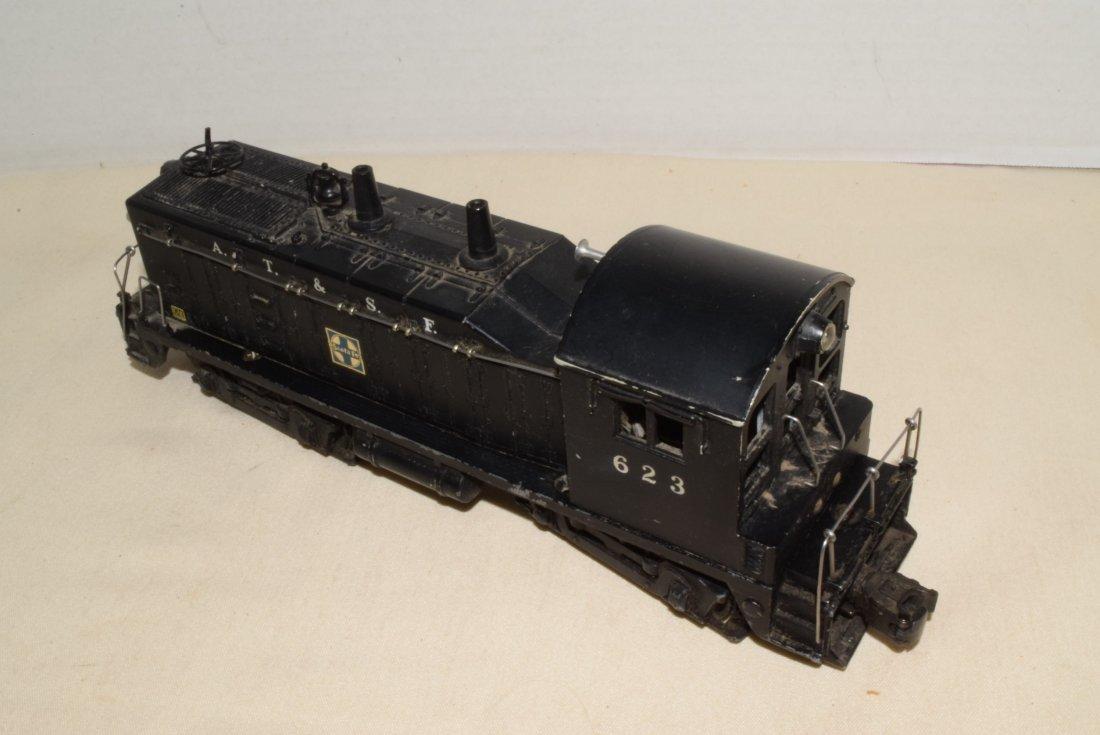 1950'S LIONEL TRAIN LOCOMOTIVE 623 SANTA FE DIESEL - 4
