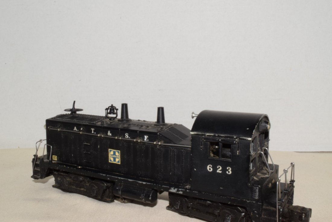 1950'S LIONEL TRAIN LOCOMOTIVE 623 SANTA FE DIESEL - 5