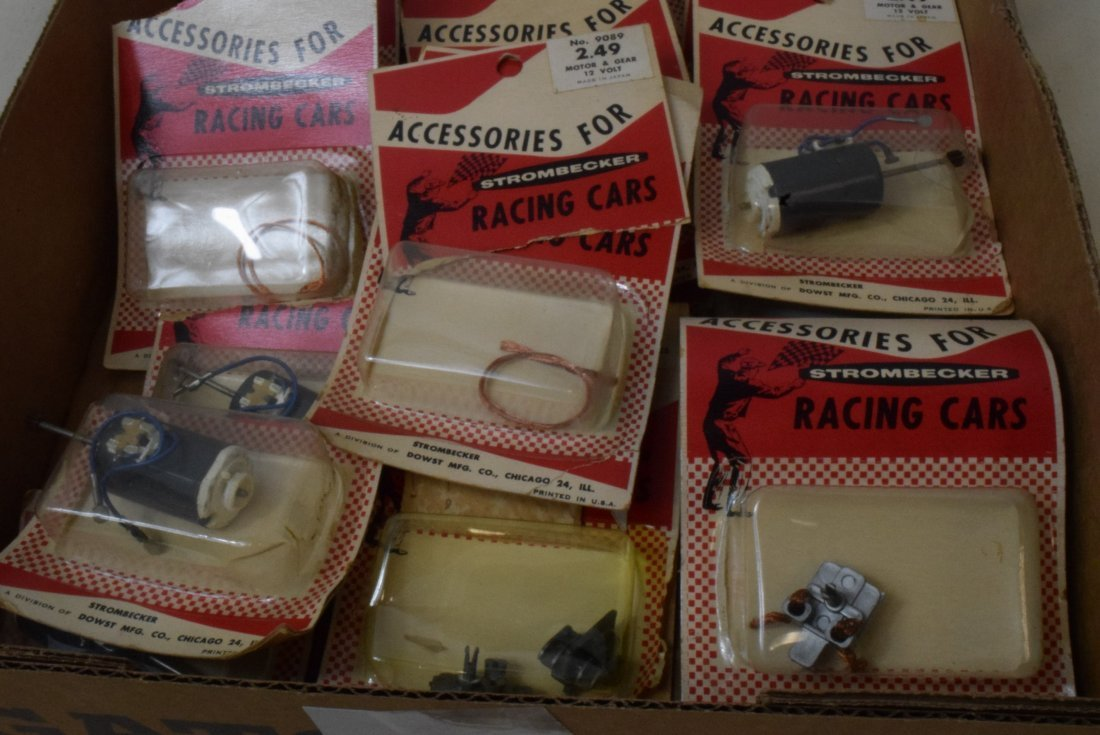 STROMBECKER RACING CAR ACCESSORIES NEW IN PACKAGES - 2