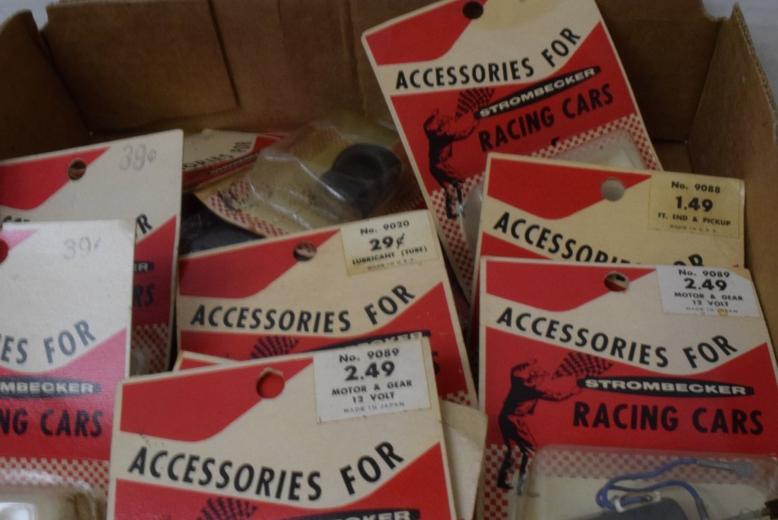 STROMBECKER RACING CAR ACCESSORIES NEW IN PACKAGES - 3