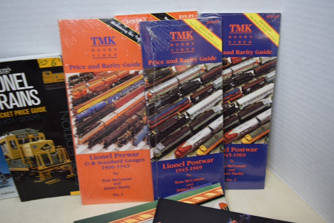 LIONEL TRAIN CATALOGS AND POCKET PRICE GUIDES - 2