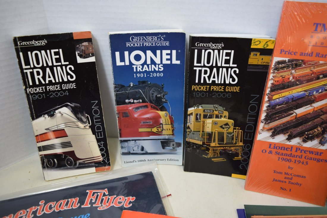 LIONEL TRAIN CATALOGS AND POCKET PRICE GUIDES - 3